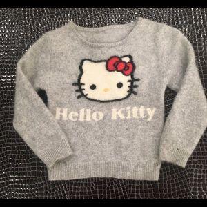Sanrio Hello Kitty 100% cashmere toddler sweater